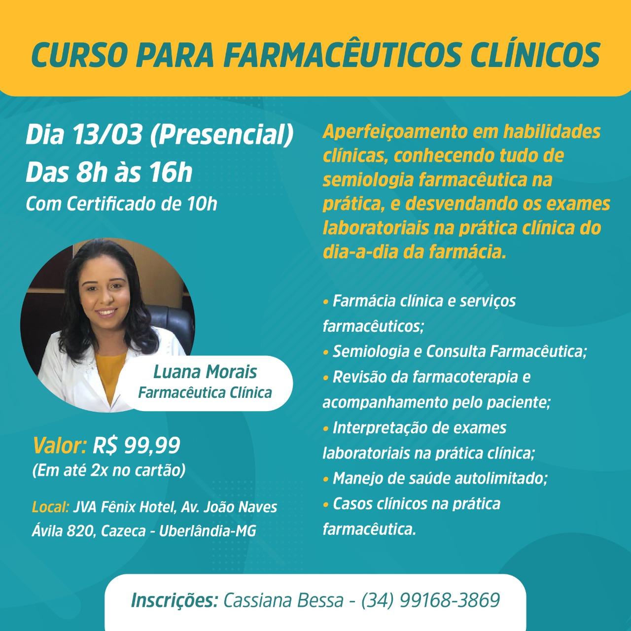 imagem projeto CURSO PARA FARMACêUTICOS CLíNICOS